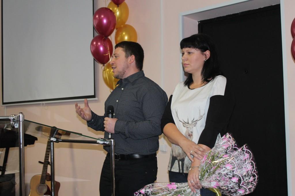 Пастор Эльдар с супругой