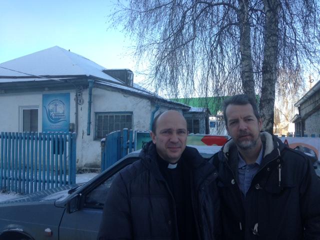 С пастором Владимиром.
