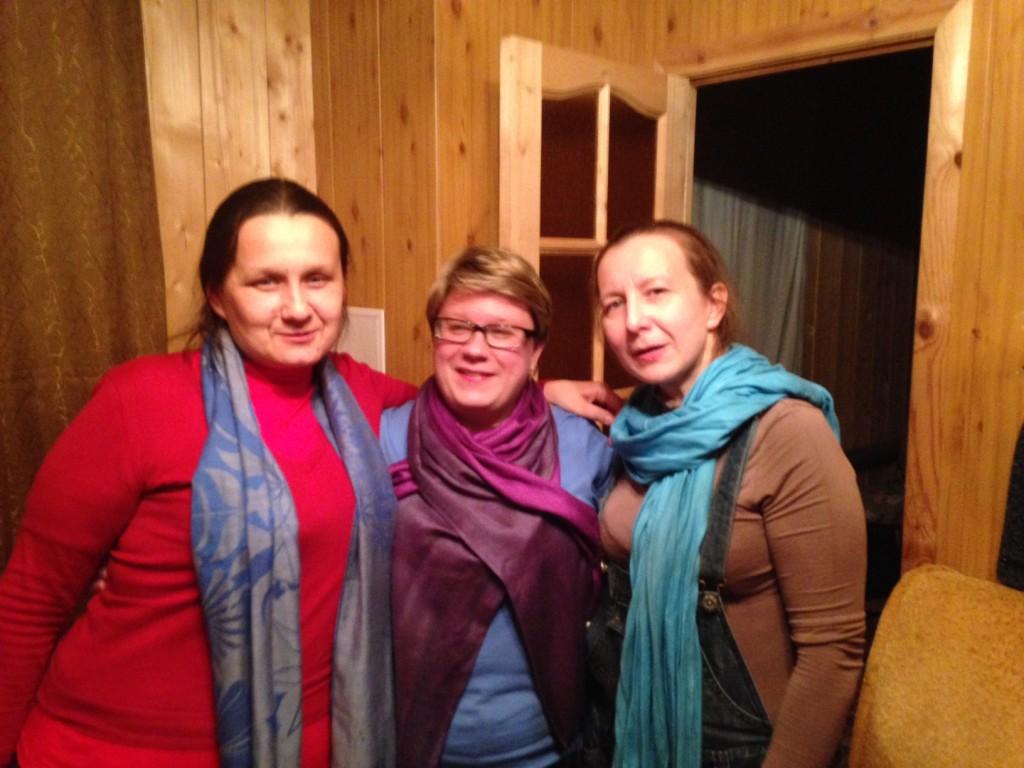 Сестры Анжела, Наталья и Татьяна