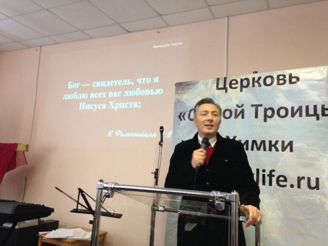 Старший пастор Борис Павлович