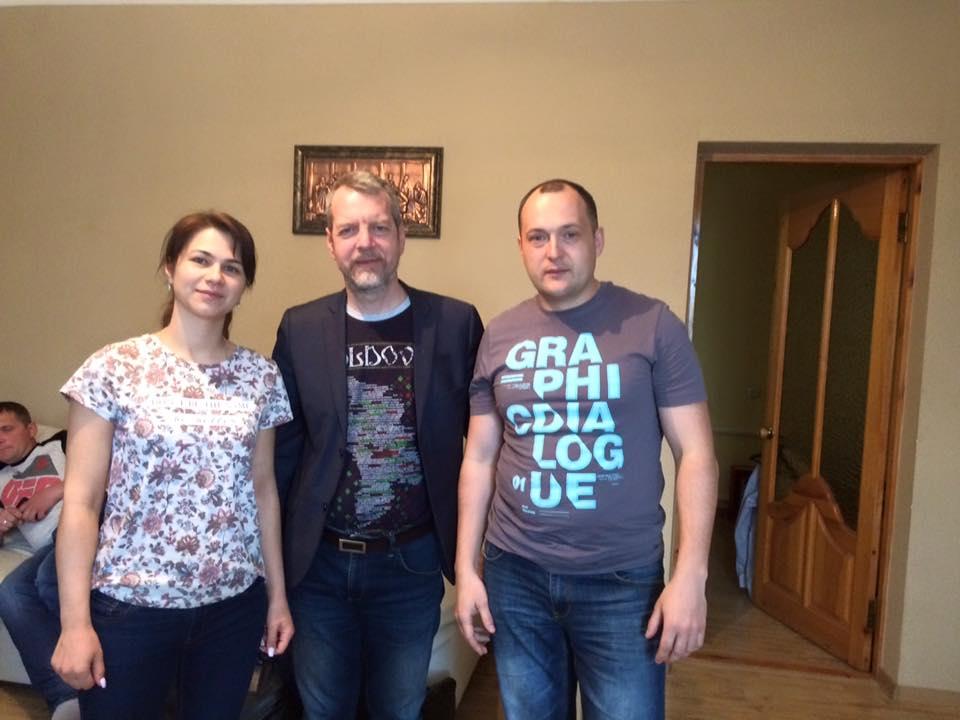 С пастором Денисом и его супругой Настей